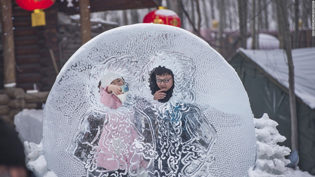 For those who have always wanted to snap a selfie in a snow globe, the Harbin International Snow and Ice Festival is full of photo ops.