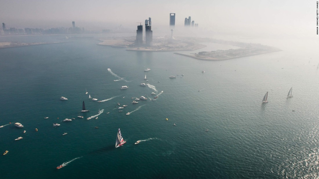 The third leg of the Volvo Ocean Race begins Saturday, January 3, in Abu Dhabi, United Arab Emirates. This portion will conclude in Sanya, China.