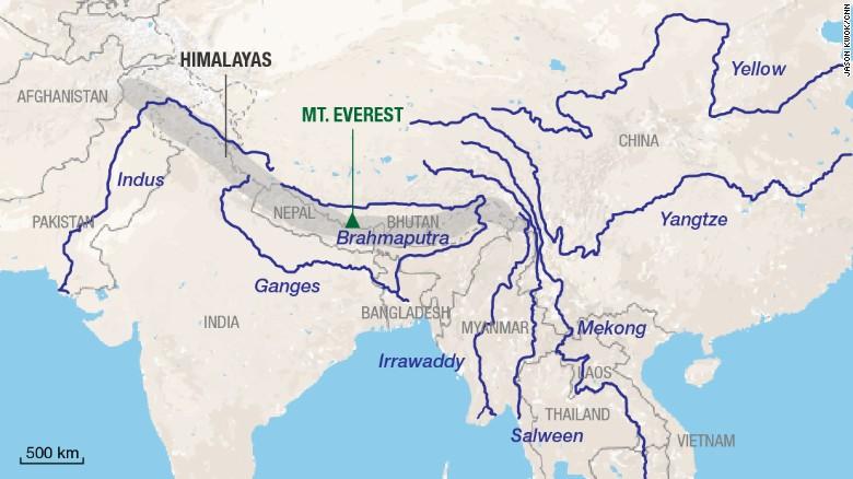 Himalaya future is warmer not brighter  CNN