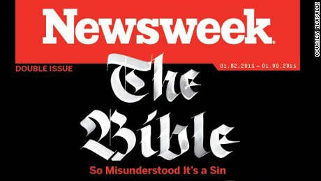 Newsweek cover on The Bible.