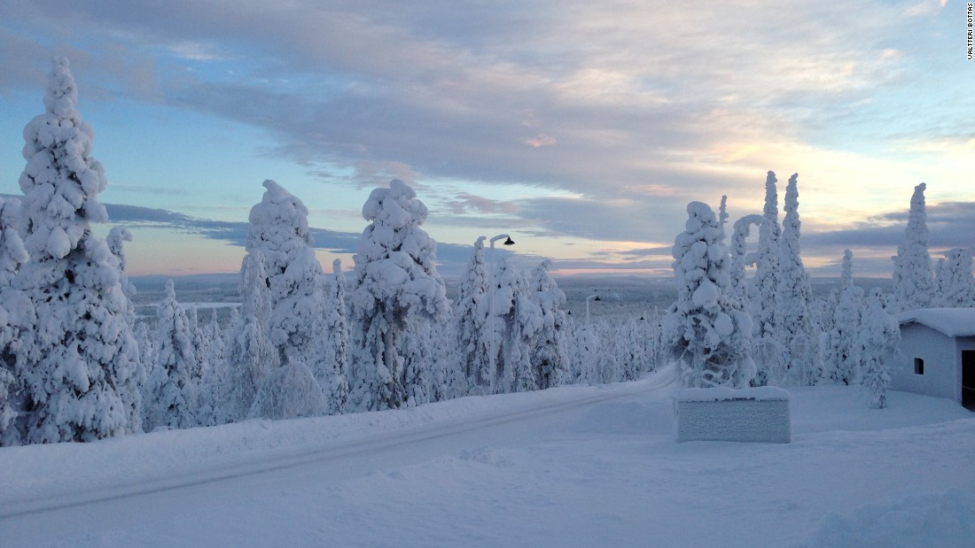 Finnish drivers have often been renowned for their ice cool approach to the race track but Williams driver Valtteri Bottas takes it one step further with his snap of Finnish Lapland in January.