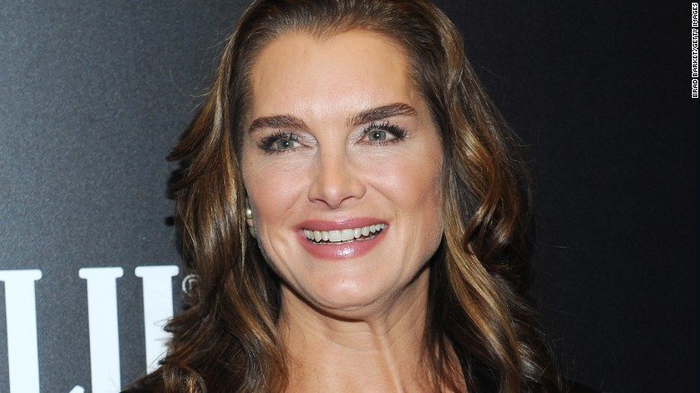 Brooke Shields says she broke her leg and is learning how to walk again