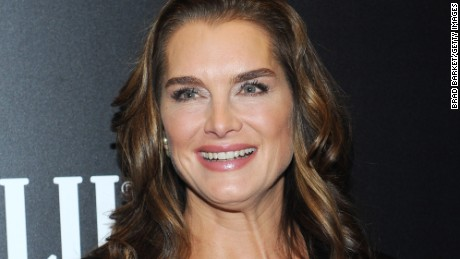 "NEW YORK, NY - DECEMBER 15:  Actress Brooke Shields attends the ""Big Eyes"" New York Premiere at Museum of Modern Art on December 15, 2014 in New York City.  (Photo by Brad Barket/Getty Images)"