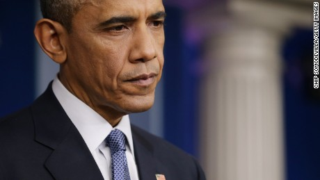 President Barack Obama defending his immigration policy during a twon hall meeting on Wednesday.