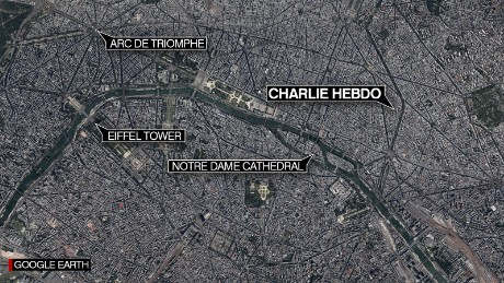 Helicopters search for Charlie Hebdo shooters  CNN