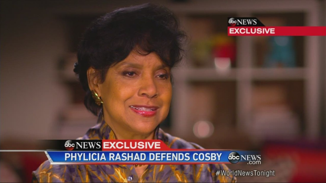 Phylicia Rashad says she was misquoted; Cosby maintains silence