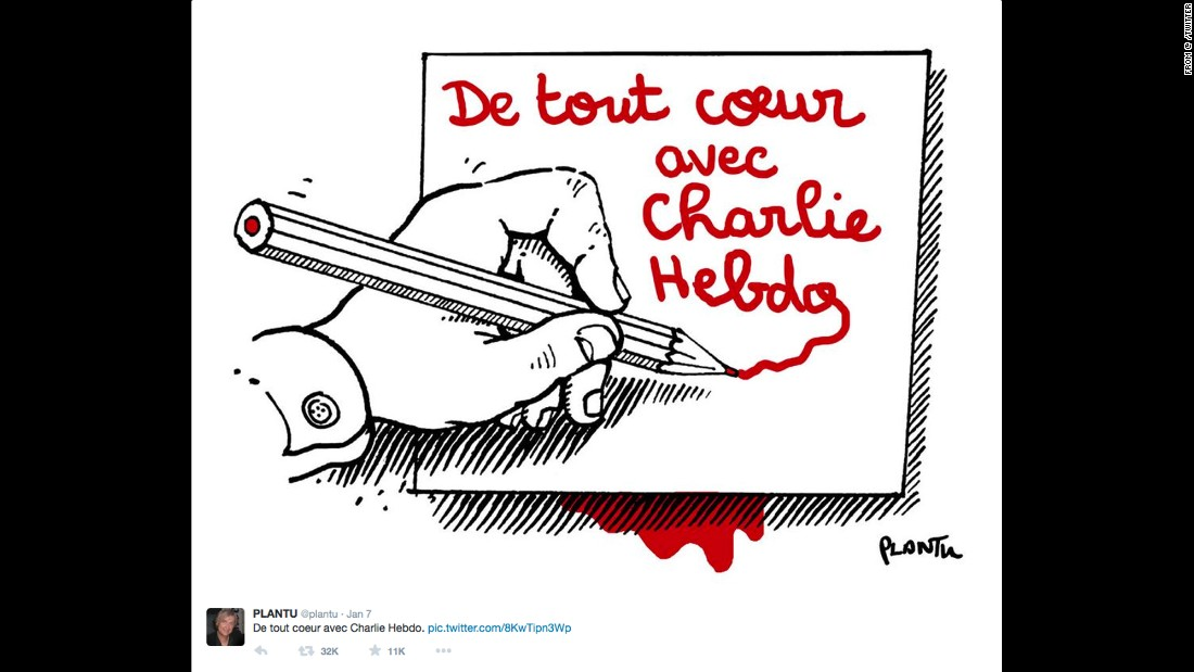 "By French cartoonist <a href=""https://twitter.com/plantu/status/552820642987270144"" target=""_blank"">Plantu</a> for Le Monde"