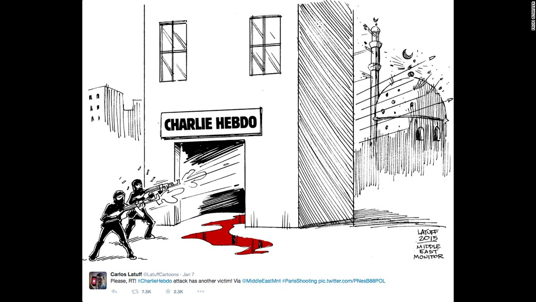 "By Brazilian political cartoonist <a href=""https://twitter.com/LatuffCartoons/status/552847548776742914"" target=""_blank"">Carlos Latuff</a>"