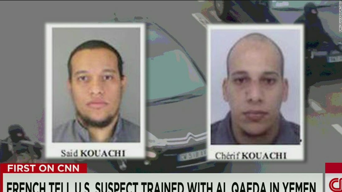 A timeline of the Charlie Hebdo terror attack