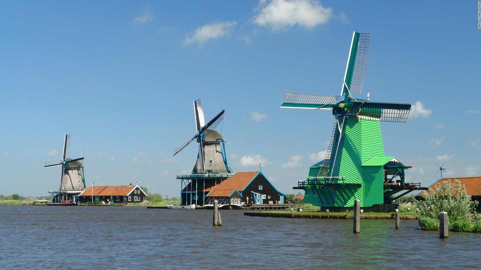 zaanse schans where windmills turn into living history cnn travel