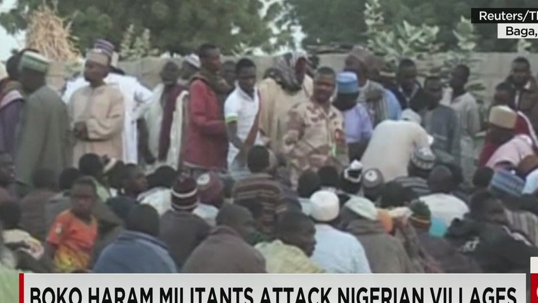Explosives strapped to girl kill 20 people at Nigerian market
