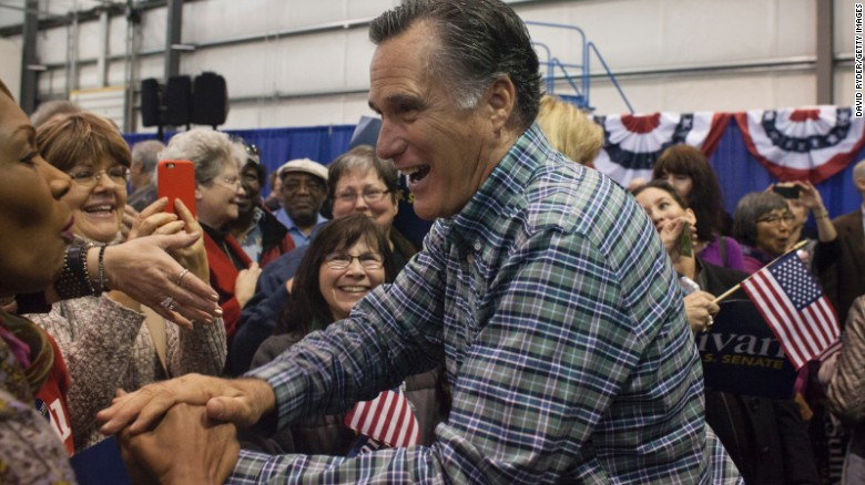 Romney has frequently said 'no' to 2016