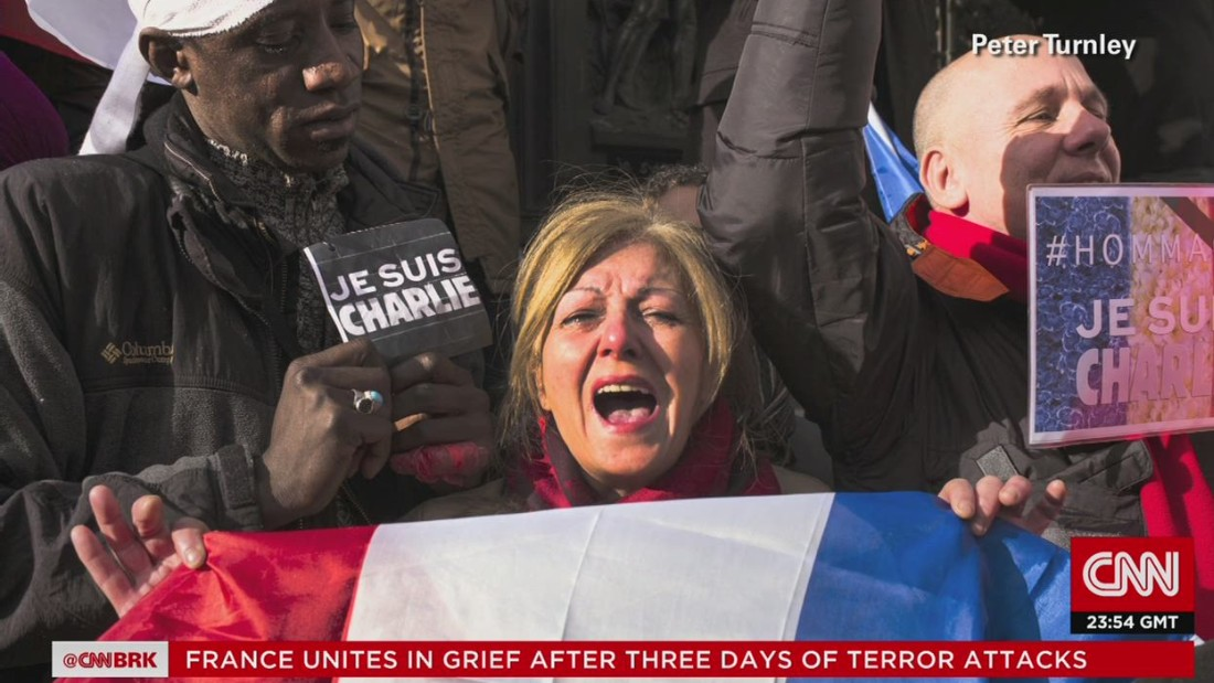 Array of world leaders joins 3.7 million in France to defy terrorism