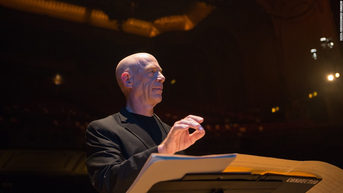 "J.K. Simmons won in the best supporting male category for ""Whiplash."""
