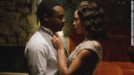 Still of Carmen Ejogo and David Oyelowo in Selma (2014)