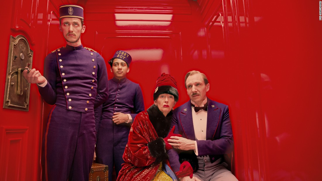 "<strong>Best motion picture -- musical or comedy:</strong> ""The Grand Budapest Hotel"""
