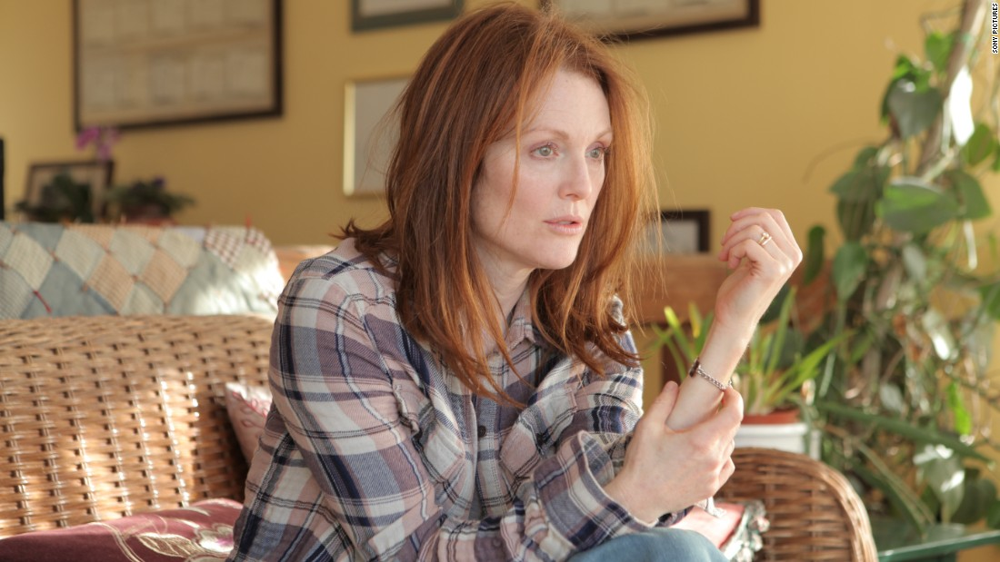 "Julianne Moore won in the best female lead category for ""Still Alice."""