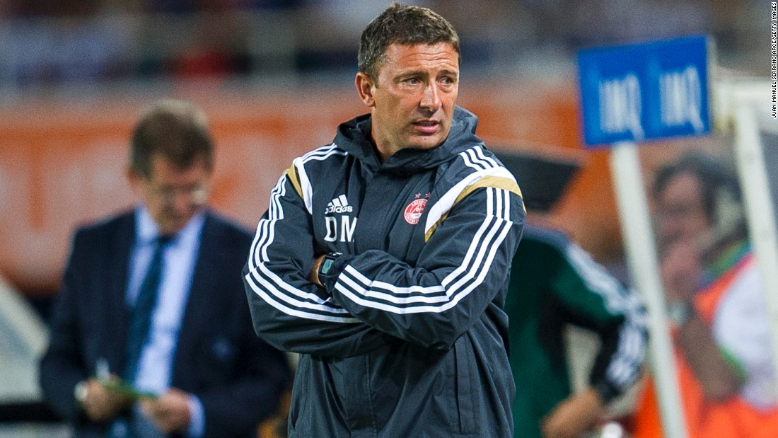 Current boss Derek McInnes has steered Aberdeen to the top of the Scottish Premiership, with his side having won eight games in a row and kept eight clean sheets.