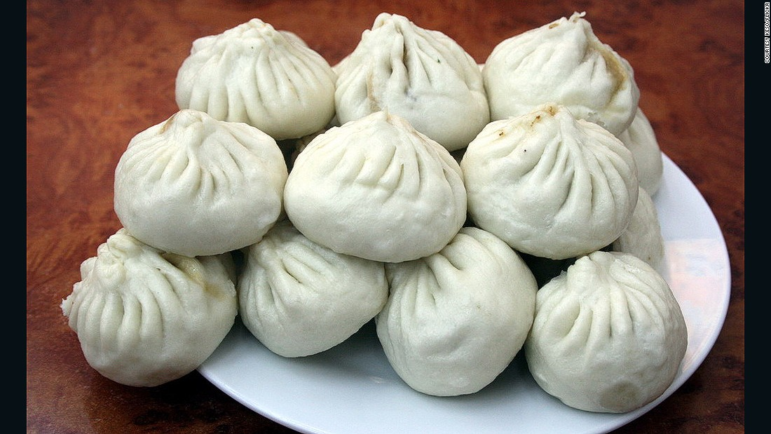 Baozi (steamed dumplings) from Beijing's Qing-Feng, made famous after Xi queued, paid and picked up lunch by himself.