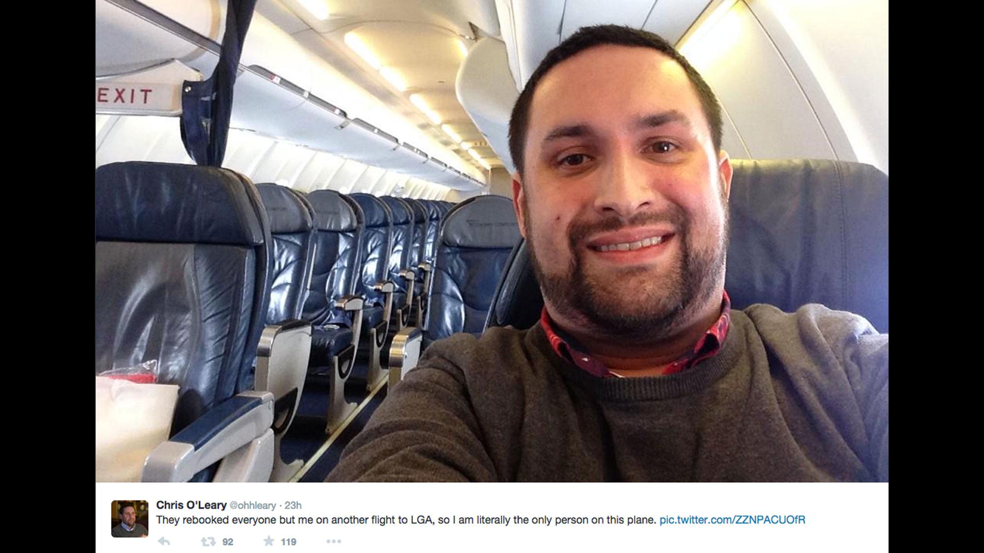 Man Finds Himself Alone On Delta Flight Cnn Travel