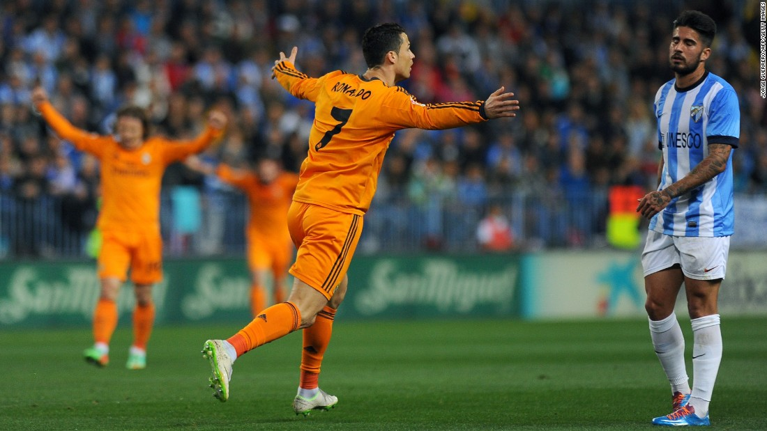 March 15: With his goal against Malaga, Ronaldo becomes the first player to score at least 25 goals in five consecutive seasons.