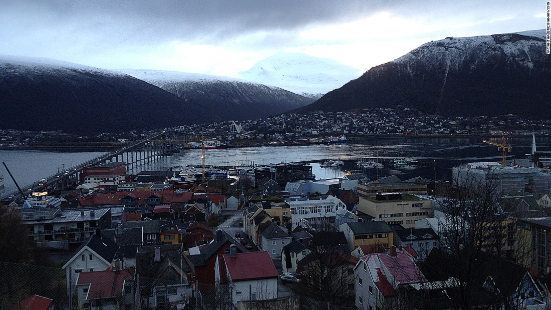 The work is part of the PharmaSea project, which brings together researchers from the UK, Belgium, Spain, Ireland, Germany, Italy, Denmark and the Norwegian town of Tromso, pictured.