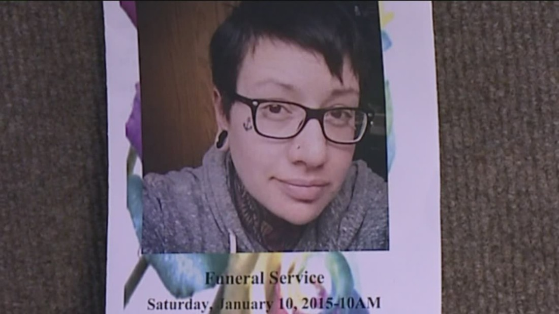 Protests at Colorado church over handling of gay woman's funeral