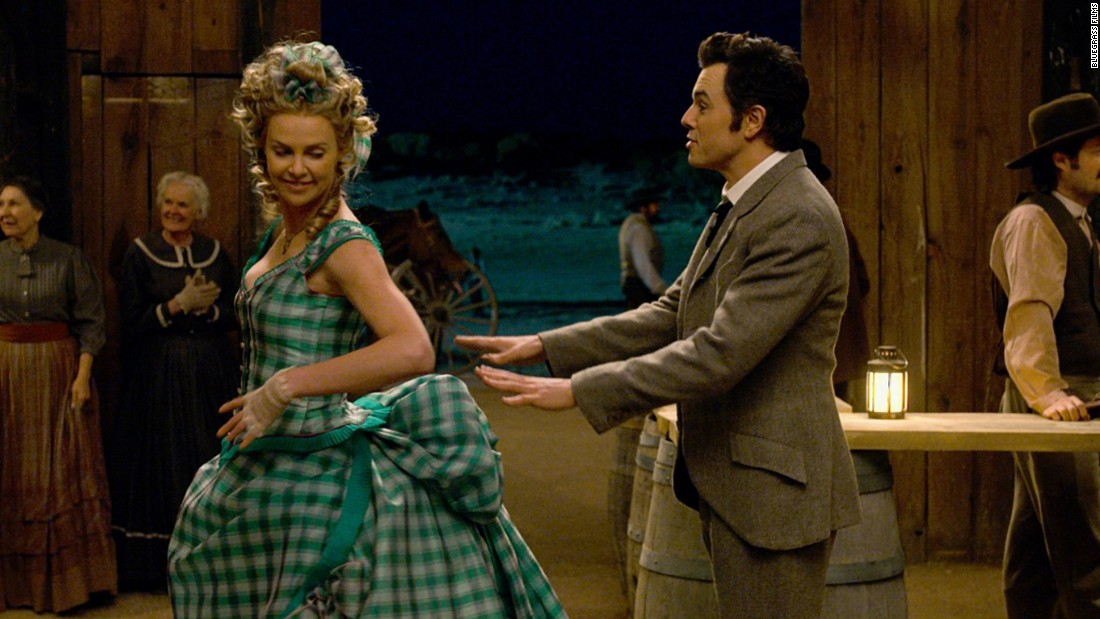 "Seth MacFarlane was also a dual Razzie nominee, picking up nods for worst actor and worst screen combo (with Charlize Theron), both for the film ""A Million Ways to Die in the West."""
