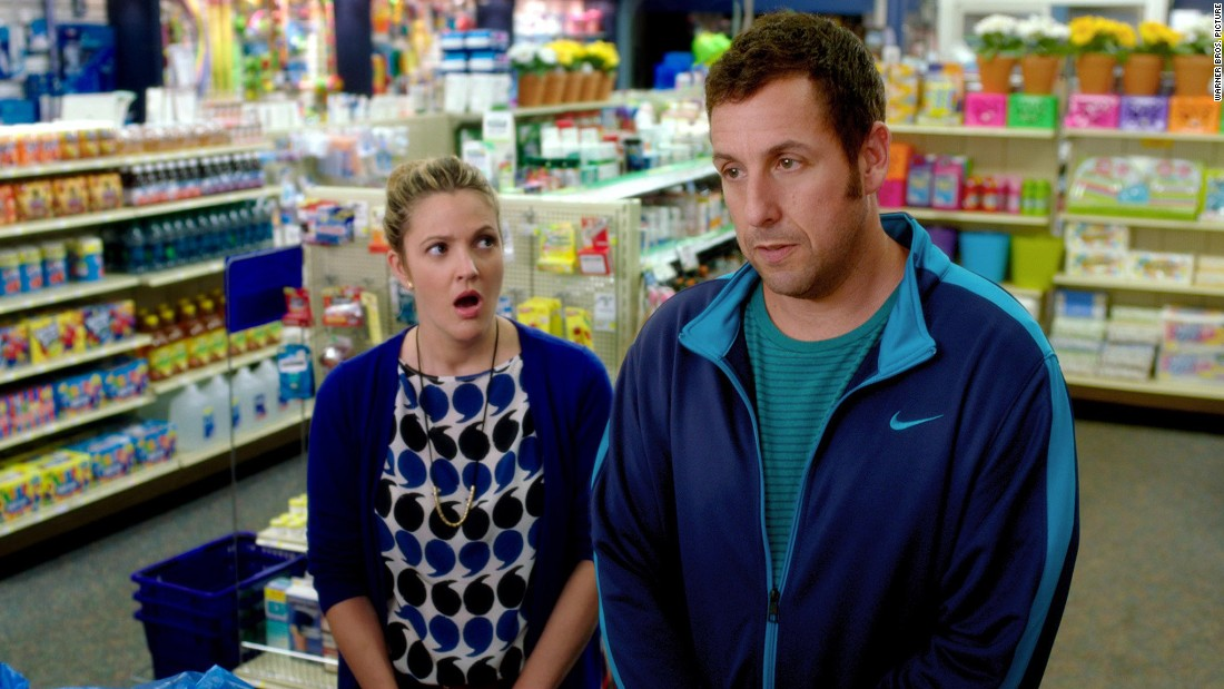 "Adam Sandler has been a fixture on Razzie lists through the years, and this year is no different. He is up for worst actor for his performance in ""Blended"" (with Drew Barrymore)."