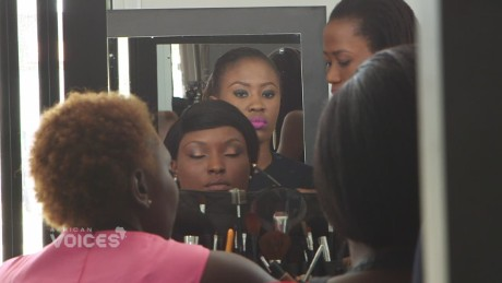 Nigerian builds own beauty empire