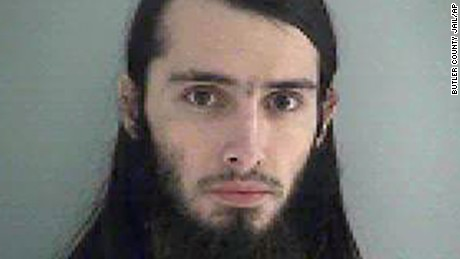 This Wednesday Jan. 14, 2015 photo made available by the Butler County Jail shows Christopher Lee Cornell. Cornell plotted to attack the U.S. Capitol in Washington and kill government officials inside it and spoke of his desire to support the Islamic State militant group, the FBI said on Wednesday. (AP Photo/Butler County Jail/AP)