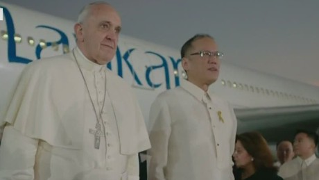 lkl coren pope francis arrives in philippines_00010318