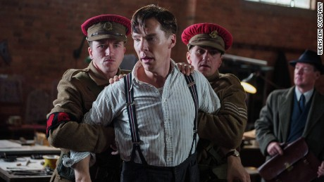 "Alan Turing, portrayed in the Oscar-nominated film ""The Imitation Game"" by Benedict Cumberbatch, was one of many convicted under the UK's anti-gay laws."