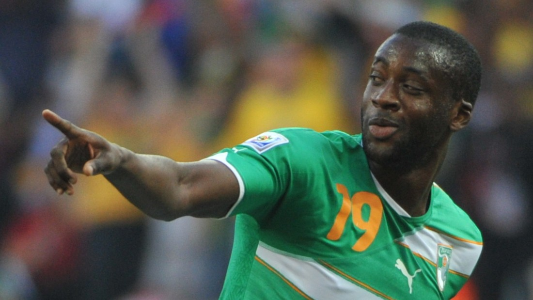 He made his World Cup debut for Ivory Coast in the 2010 tournament in South Africa and scored in the group game against North Korea. But he and his countrymen failed to qualify for the knockout stages from a group also containing Brazil and Portugal.