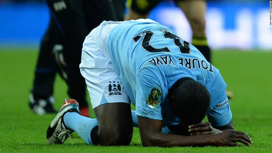 But the highs at City have also been mixed with lows, the midfielder cutting a disconsolate figure on the pitch at Wembley Stadium after a shock defeat in the 2013 FA Cup final against Wigan Athletic.