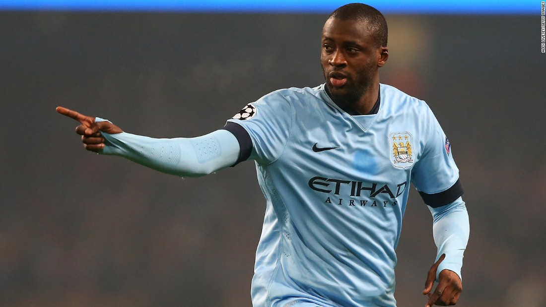 Yaya Toure has been integral to Manchester City's success since his arrival at the club but his love affair at the Etihad Stadium in 2010. The relationship has been occasionally strained, however, with ongoing rumors that he could yet leave the club at the end of the season.