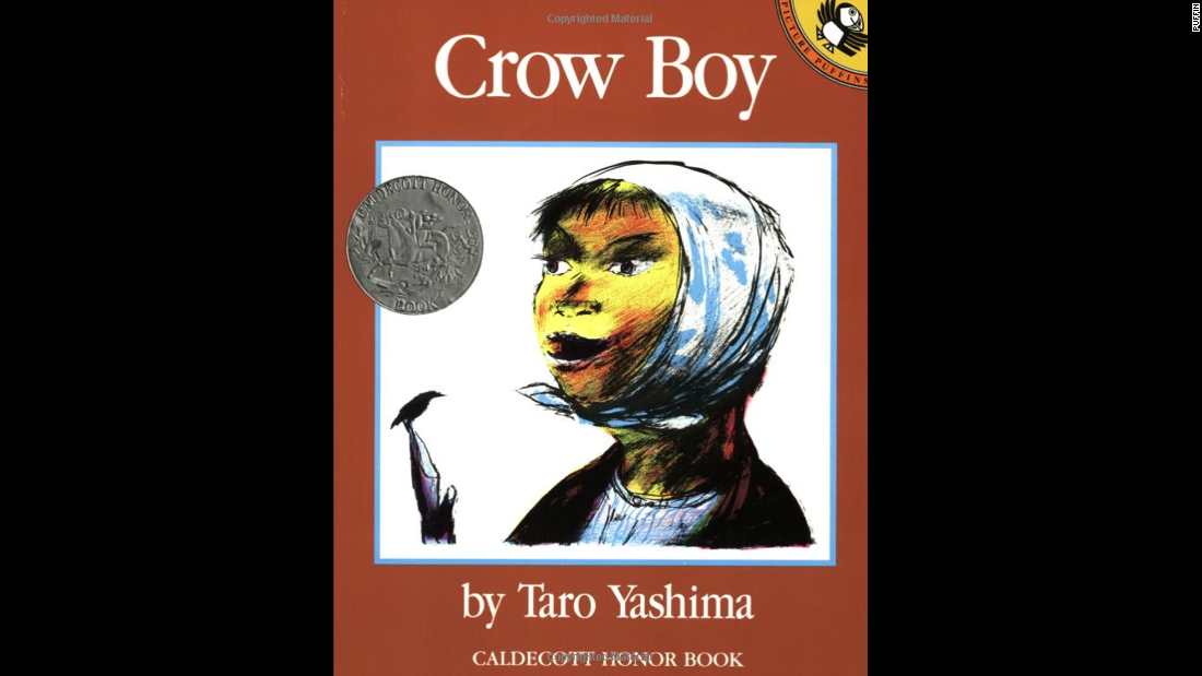 """Crow Boy,"" by Taro Yashima, tells the story of a boy rejected at school, and a kind teacher who helps him find acceptance."