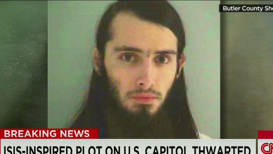 Unemployed Ohio man allegedly planned bomb-and-shoot attack on U.S. Capitol - CNN.com