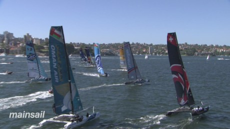 Drama as extreme sailing race draws to a close
