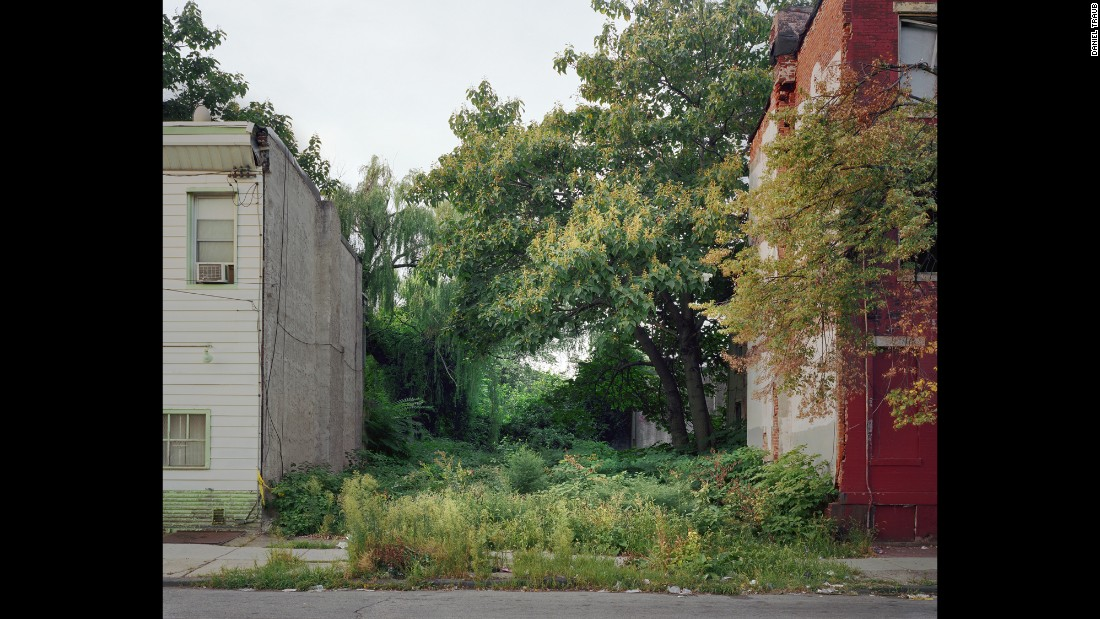 A vacant lot on Cecil B. Moore Avenue near North Marston Street, in 2010.