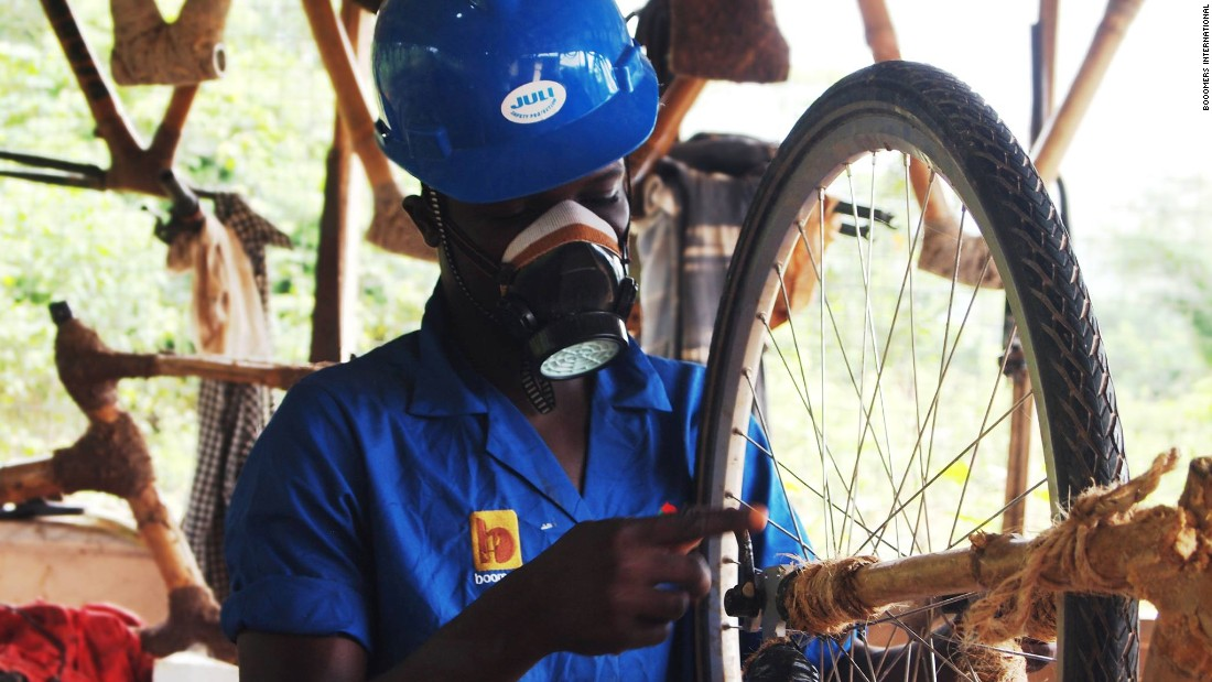 Booomers International is also a social enterprise training rural Ghanaian communities in the art of bicycle manufacture to provide an economic freedom many of them have never experienced.