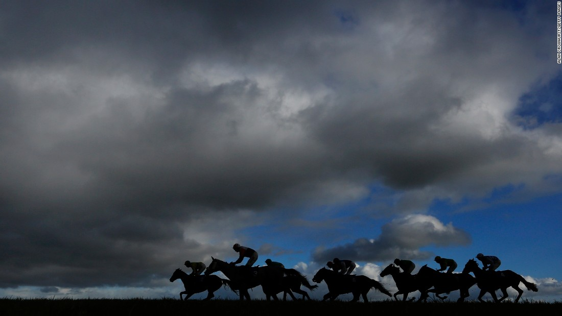 "Horses make their way down the backstretch during a race held Thursday, January 15, at the Wincanton Racecourse in Wincanton, England. <a href=""http://www.cnn.com/2015/01/13/sport/gallery/what-a-shot-0113/index.html"" target=""_blank"">See 37 amazing sports photos from last week</a>"
