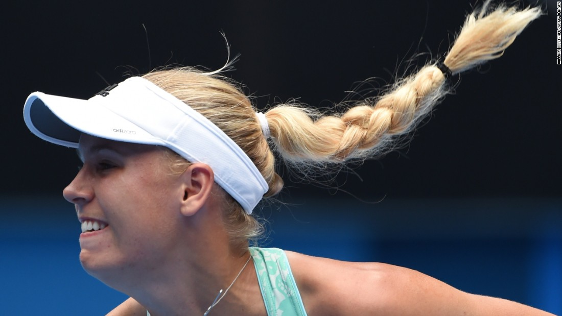 Wozniacki is seeking a maiden major but her path in Melbourne appears to be very difficult.