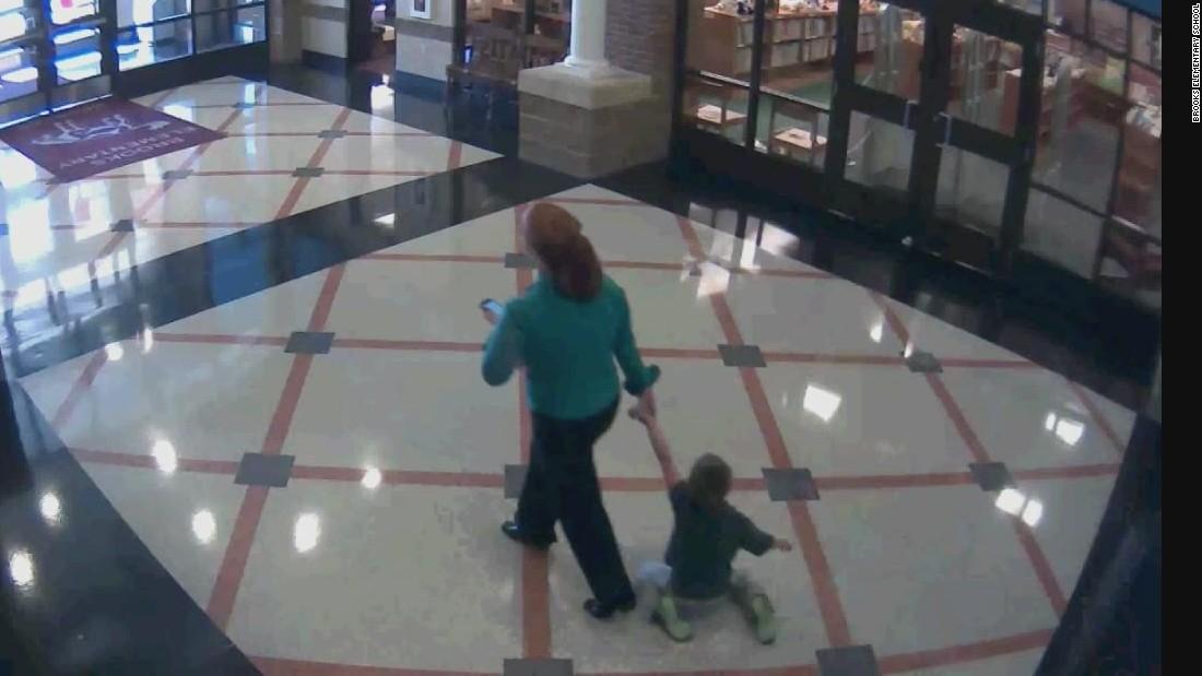 Teacher drags 6-year-old student through hallway