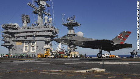 The United States Navy is proclaiming the latest fighter jet against a hideout ready for combat