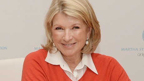 PASADENA, CA - DECEMBER 17, 2013: Martha Stewart attends a holiday book signing for her new book 'Martha Stewart's Cakes' at Macy's in Pasadena, California. (Photo by Jason Kempin/Getty Images)