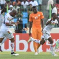 afcon guinea celebrate goal against ivory coast