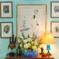 lauren bacall collection wall paintings