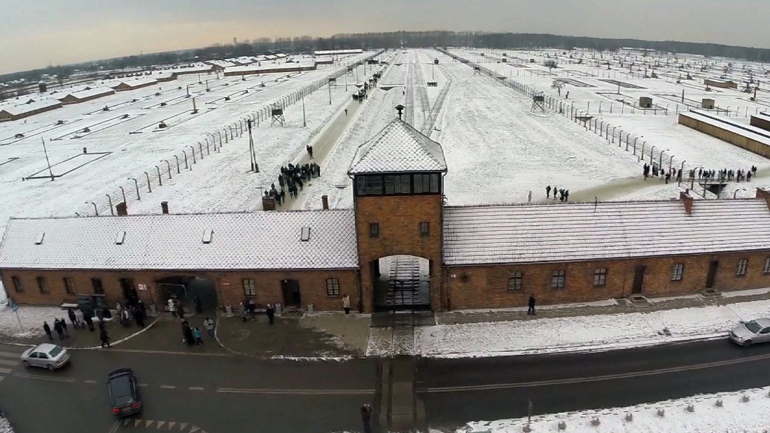 Auschwitz 'showers' offend some visitors to the former Nazi camp