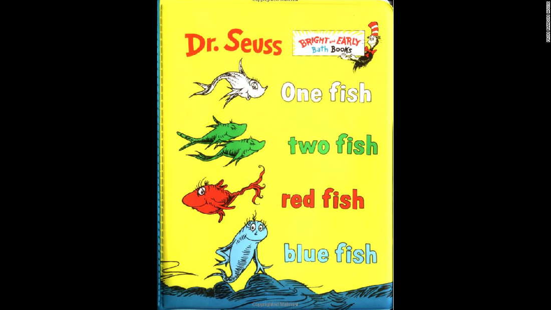 """One Fish, Two Fish, Red Fish, Blue Fish"" was published in 1960."